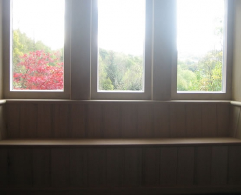Bay Window and Bench Seat