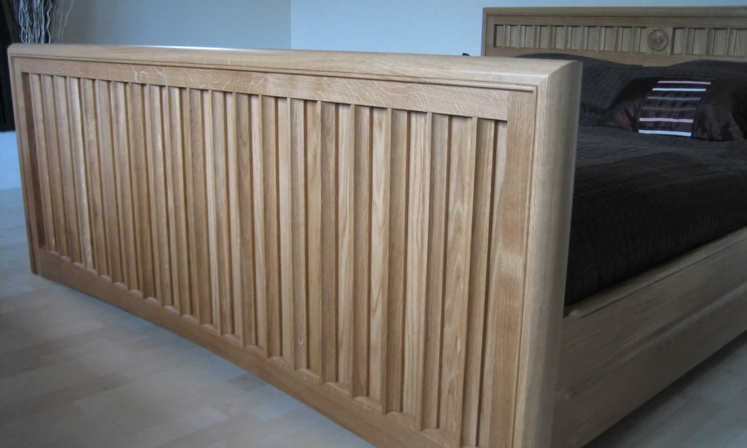 Woodworkshop Solid Oak Bed